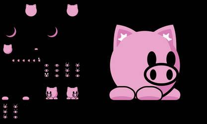 Teeworlds Tee Pig