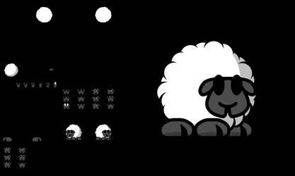 Teeworlds Tee Sheep
