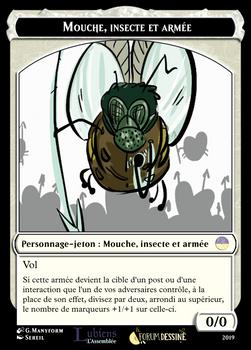 Mouche Insecte Armee  Jeton
