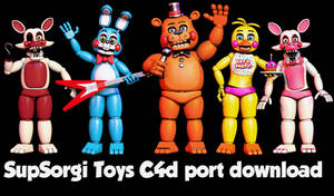 Supsorgi Toy Model C4d Port By Popi10234 by Popi01234