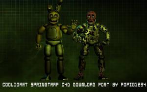 Coolioart Springtrap c4d port By Popi01234 by Popi01234