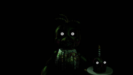 Phantom toy Chica Jumpscare by Popi01234