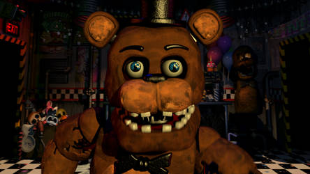 UCN Withered Freddy Jumpscare by Popi01234