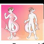 Pink Shark Boy Auction (CLOSED)