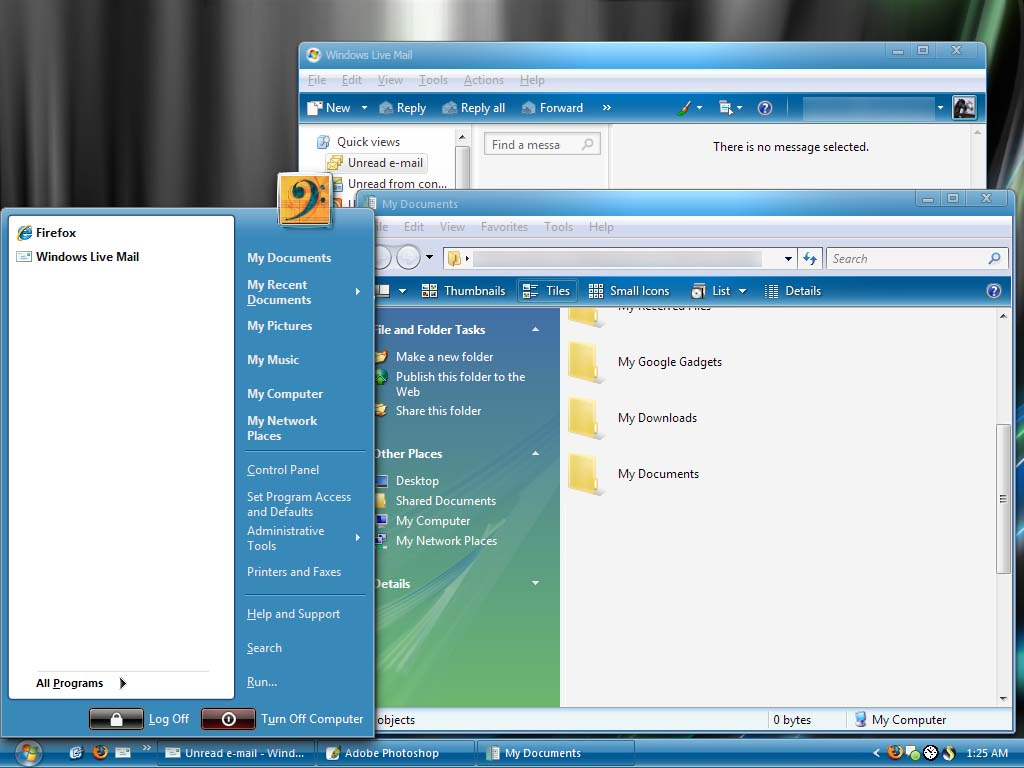 Windows Live XP - msstyle