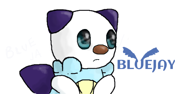 Marriland's Pokemon Black Wedlocke- Bluejay the Os by TheWonky