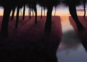 Crepuscule by KinThoa