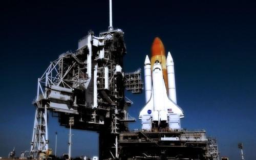 NASA Space Shuttle Stay Off by GrzegorzJZD