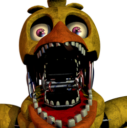 Withered Chica Jumpscare by LillyTheRenderer on DeviantArt