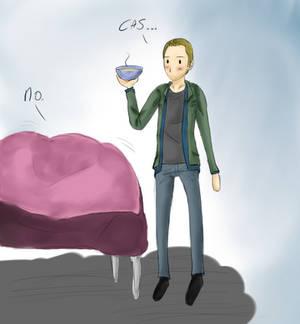 SPN sick fic drawing