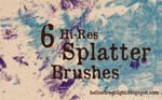 Free Brush Set 17: Splatter