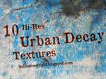 10 Hi-Res Urban Decay Textures