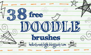 Free Brush Set 22: Doodles