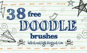 Free Brush Set 22: Doodles by tau-kast