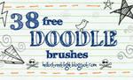 Free Brush Set 22: Doodles