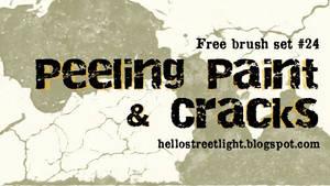 Free Brush Set 24: Peeling paint and cracks