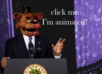Barack Ofazbear has an announcement [animated]