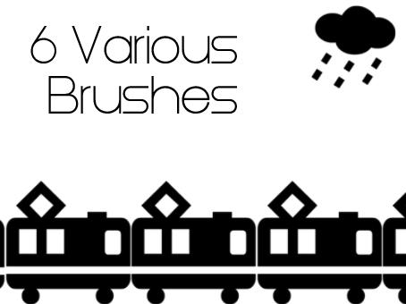 6 Various Brushes by dead-liam