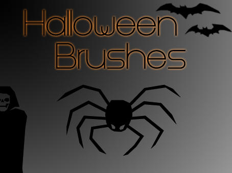 Halloween Brushes by dead-liam