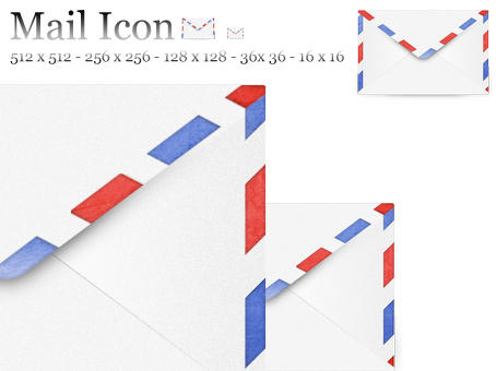 Airmail Icon by PaulTheGrand