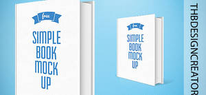 Book Mockup |PSD |SIMPLE