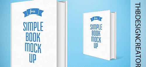 Book Mockup |PSD |SIMPLE