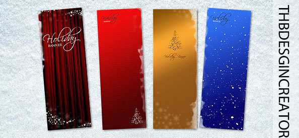 Christmas Banner |PSD|Templates by ThbEdition