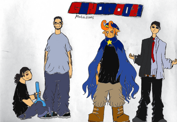 GenoGod21 Productions title card by GenoGod21