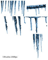 Icicle brushes by Cherryrum