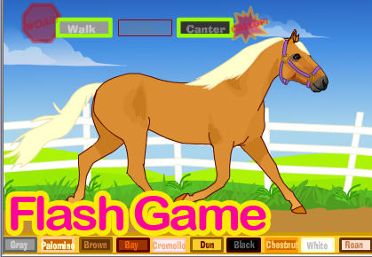 Horse Lunge Game:With Dressage