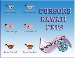 Cursors Kawaii Pets by RainboWxMikA