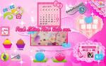 Pack Skins Xwidget Cute Pink Ver