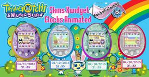 Tamagotchi Clocks