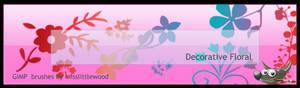 Decorative Floral for GIMP