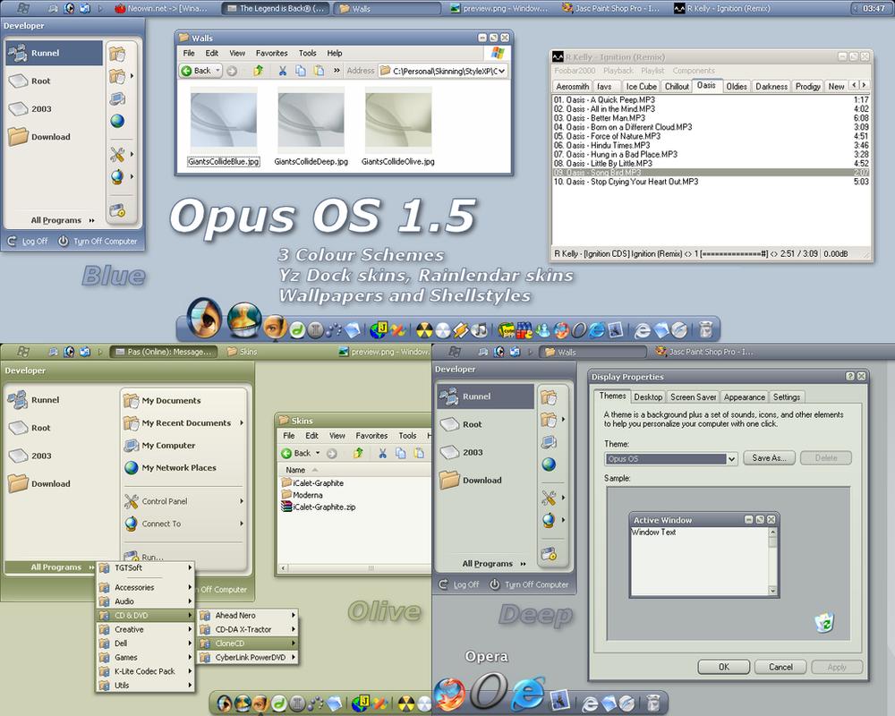 Opus OS 1.5 by b0se
