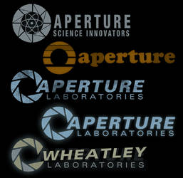 Aperture logo load screens by Berqist