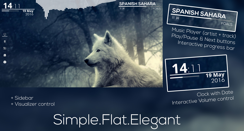 Simple.Flat.Elegant 2.0