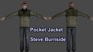 Pocket Jacket Steve Burnside (Model Download)