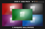 Manjaro Wallpapers PACK ST1 HD