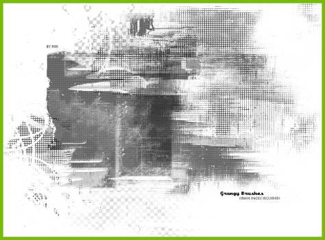Grungy Brush Set 1 by tehmiminator
