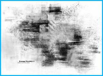 Grungy Brush Set 2 by tehmiminator