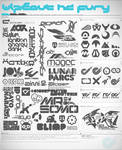 Wipeout HD Fury Shapes Mega Pack + Resources
