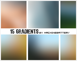 15 Gradients by Bourniio