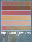 6 Big Damask Textures