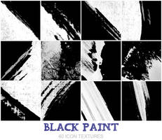 Black Paint by Bourniio