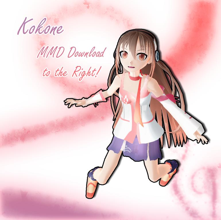 MMD Kokone DL by amai-kitten