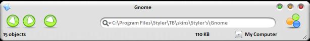 Gnome stylertoolbar by Pengspawnie