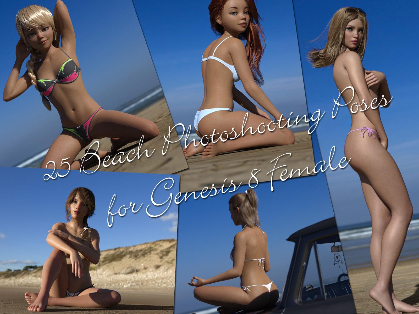 25 Beach Photoshooting Poses