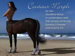 HiveWire Centaur Morphs DAZ