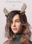 Freebie Hemi426 Christmas Antlers G3F G8F